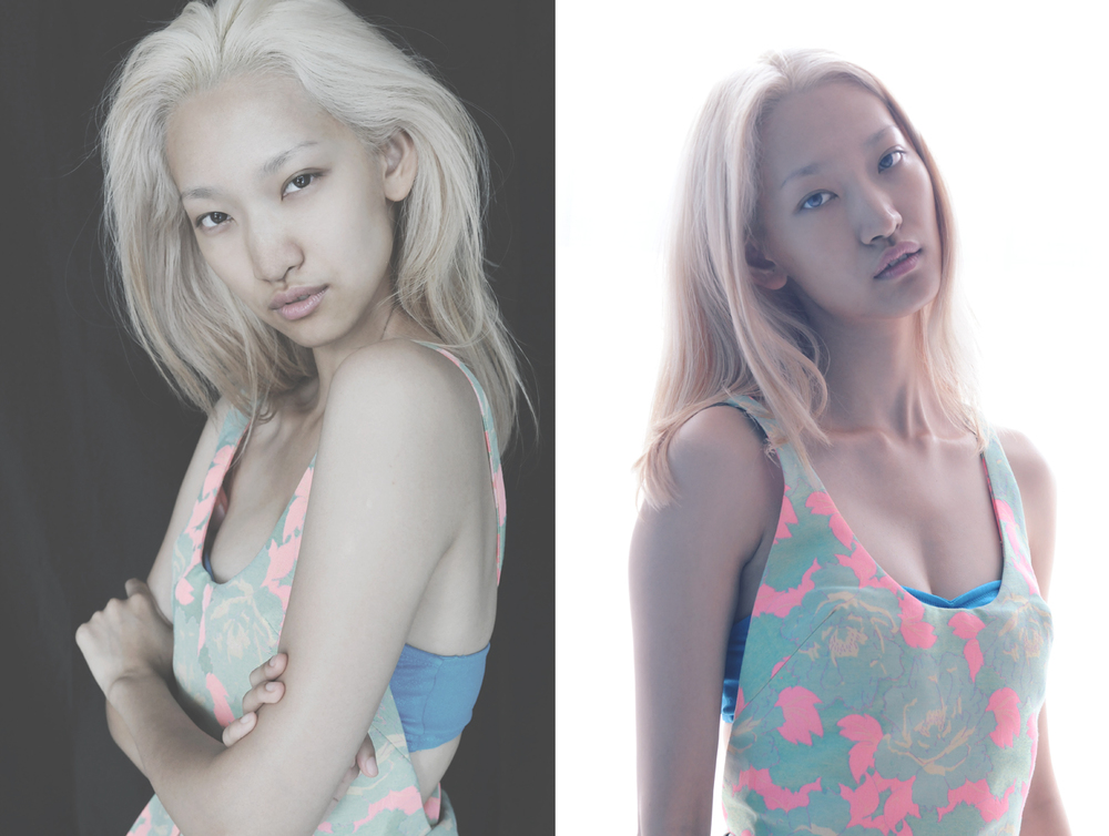 SHERRY QIU, shot on location in NYC, 2014.