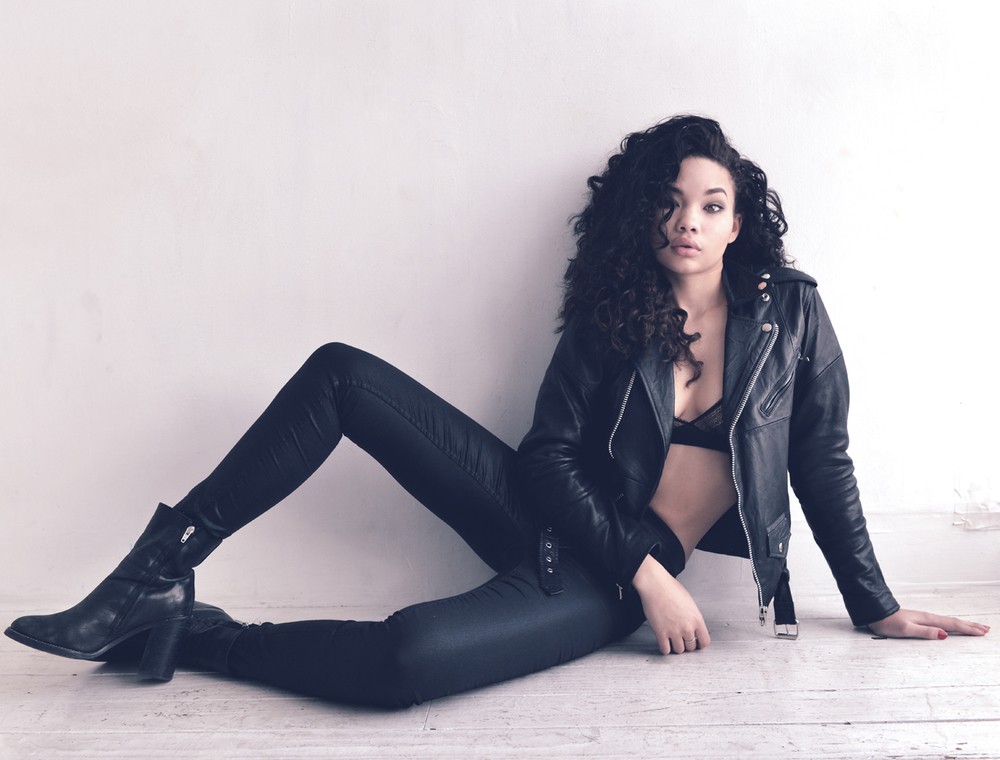 ASHLEY MOORE, shot on location in NYC, 2014.