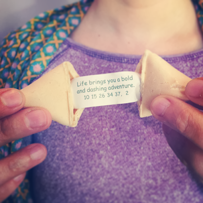 Adventures Fortune Cookie, photo by Diana Toledano