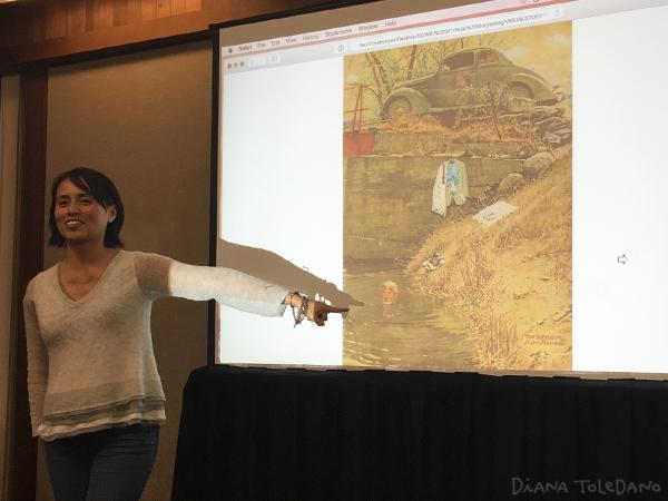 Illustrator LeUyen Pham talking about visual storytelling.
