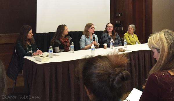 Some faculty members:Rana DiOrio, Jill Santopolo, Emma Ledbetter, Danielle Smith and Kendra Marcus.