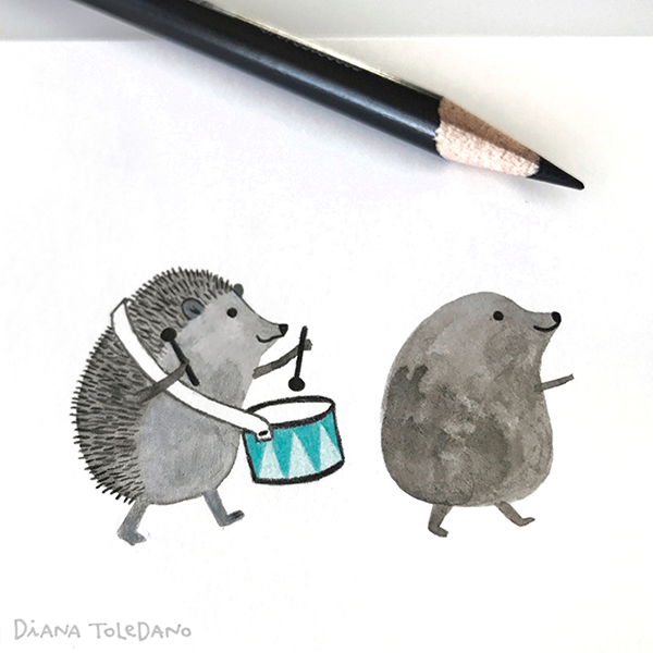 diana-toledano_wip_polly-hedgehogs