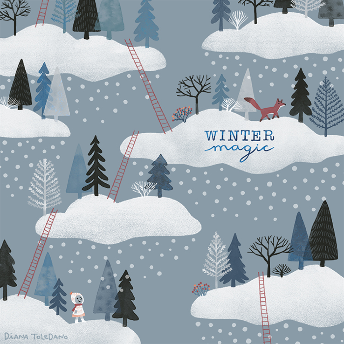 snow_forest_clouds-diana_toledano-square_holiday_card.png