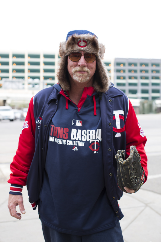 Bill Greenzweight has attended Twins games since 1986 and holds season tickets this year.