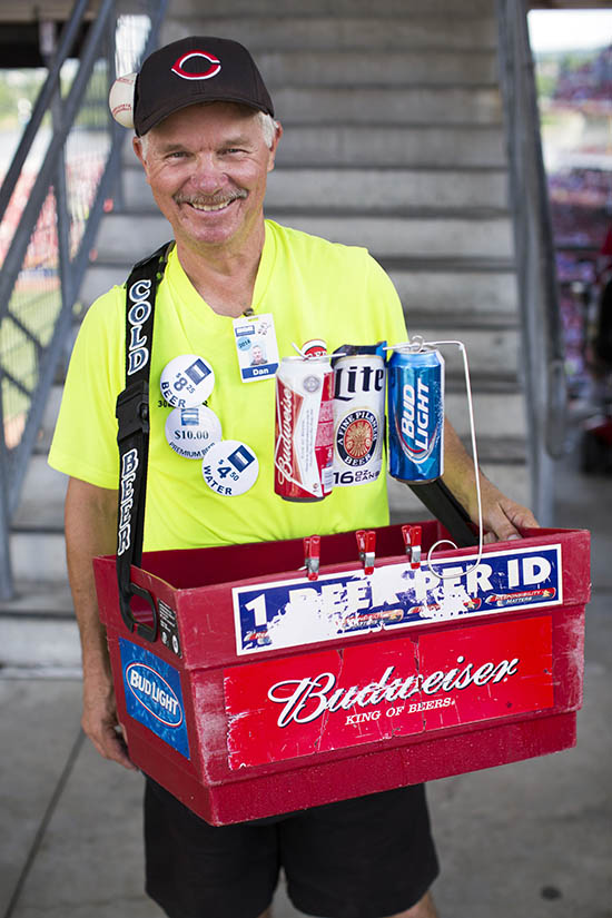 Dan. Beer vendor for five years.