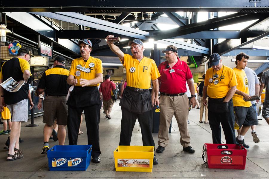 Beer Vendors.