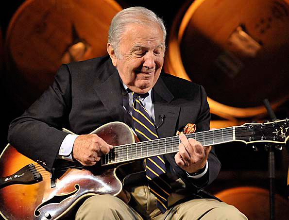 The legendary Bucky Pizzarelli