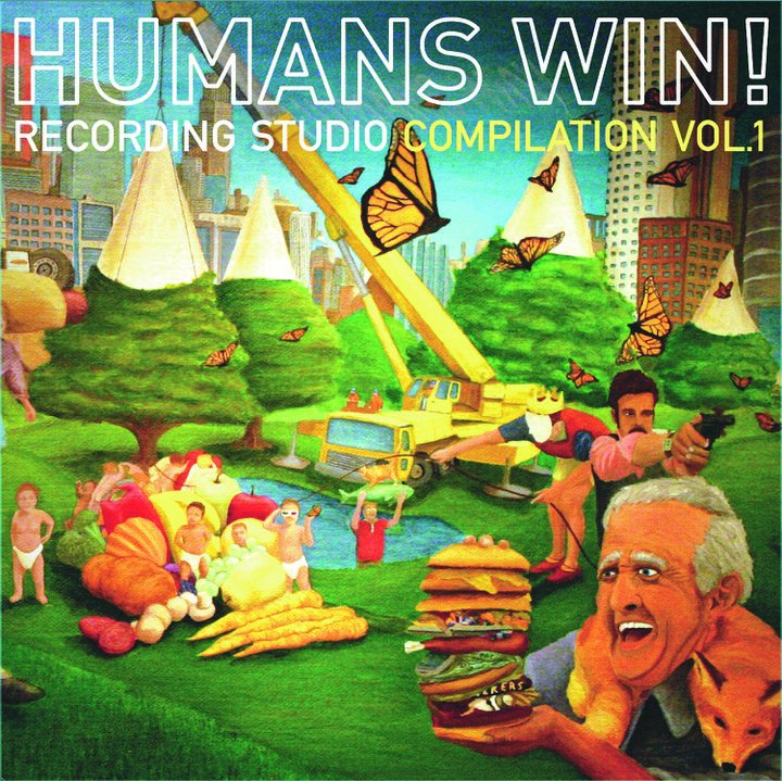 Hungry?  Chew on a free copy of Humans Win! Compilation Vol. 1