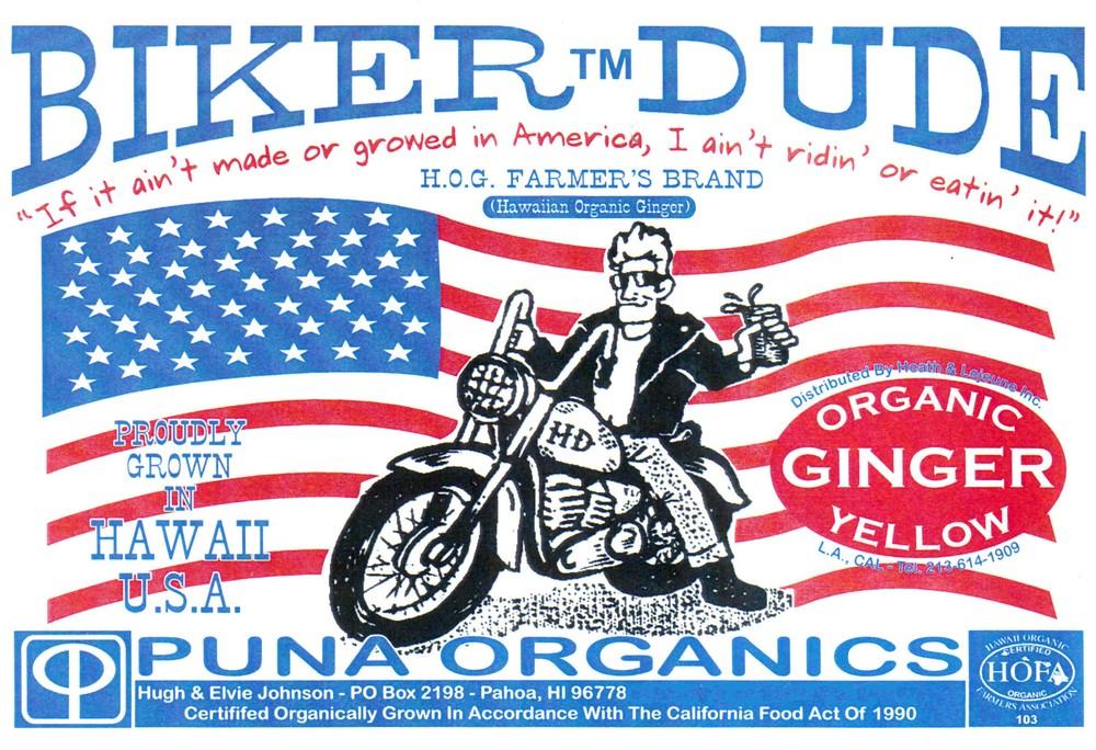 Hot ginger biker