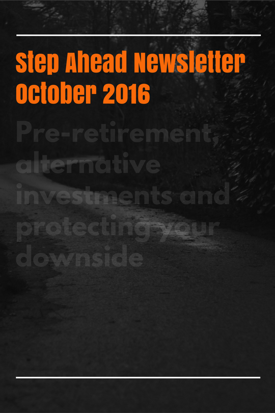 Yield Financial Planning October 2016