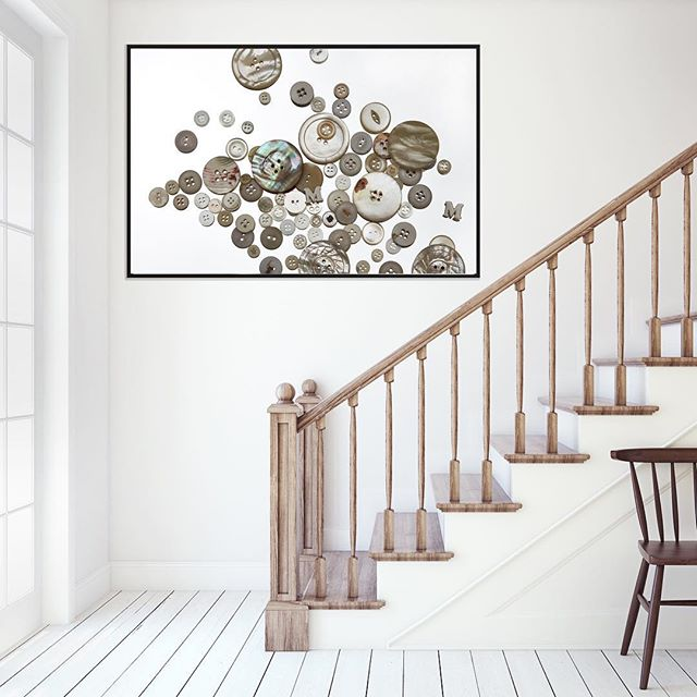 Loving the tonal range of these beautiful buttons. Simple yet each one is unique. I really enjoyed working with so much freedom. The story behind this piece is just as gorgeous thanks for sharing this with LBD. . . #artwork #interiordesign #interior #buttons #unique #gift #melbourne