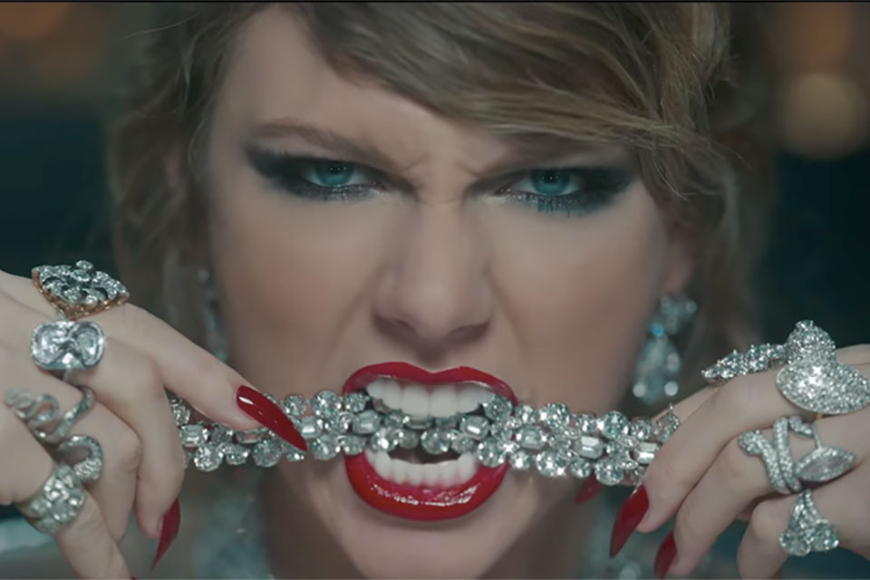 "Footage from Video ""Look What You Made Me Do"" Taylor Swift"