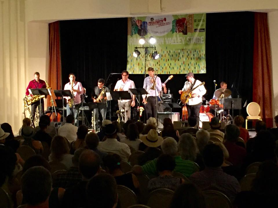 "Mason Razavi brings ""Quartet Plus"" (quartet/nonet) to the 2015 San Jose Jazz Summer Fest"