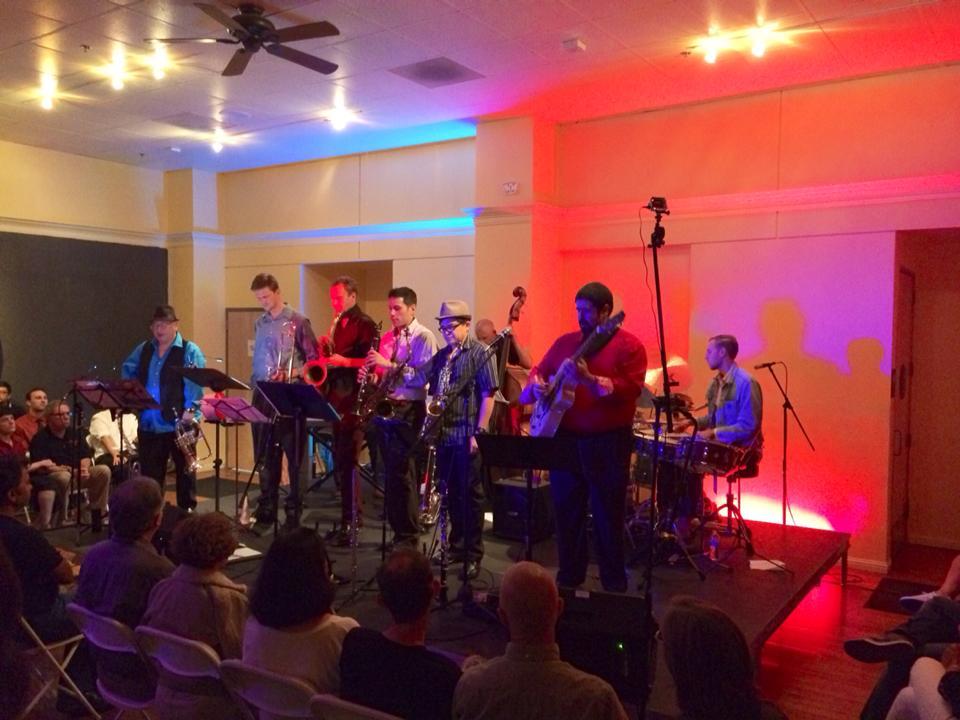 "CD Release concert for the first ""Quartet Plus"" album at Blackbird Tavern, 2014"