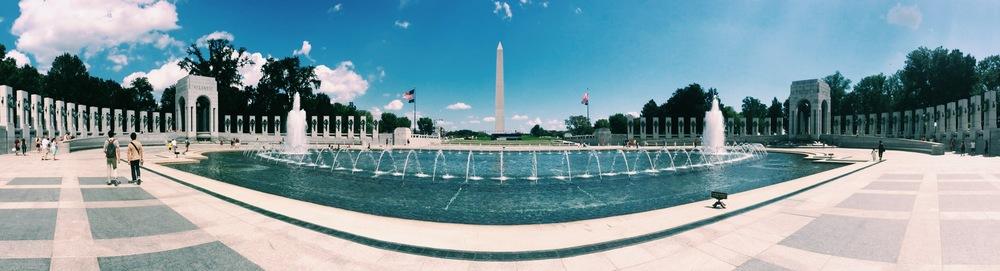 National World War II Memorial.