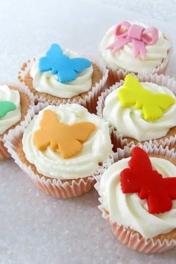 2010. One of the first few sets of cupcakes I did for friends.