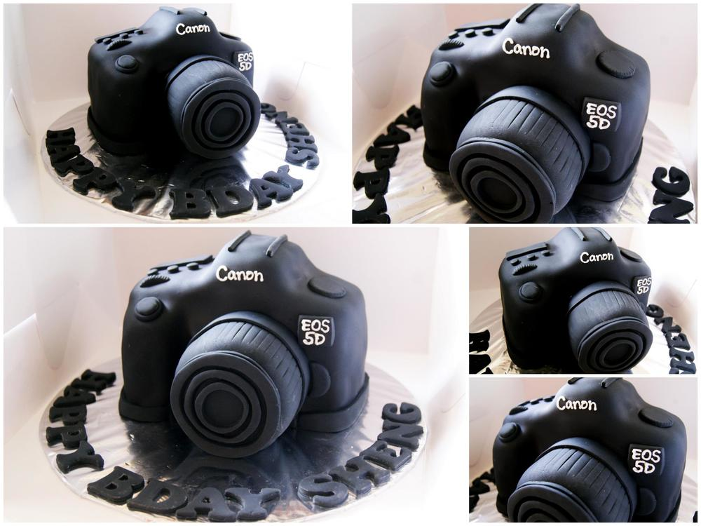 2012. I tried...doing sculpted cakes. Canon DSLR.