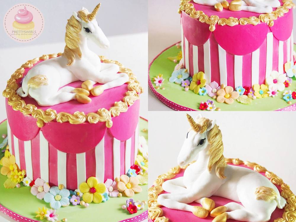 2013. One of my proudest piece of works so far though I don't this anymore, because the stress sculpting the fondant unicorn by hand will really just shorten my lifespan by 10 years.