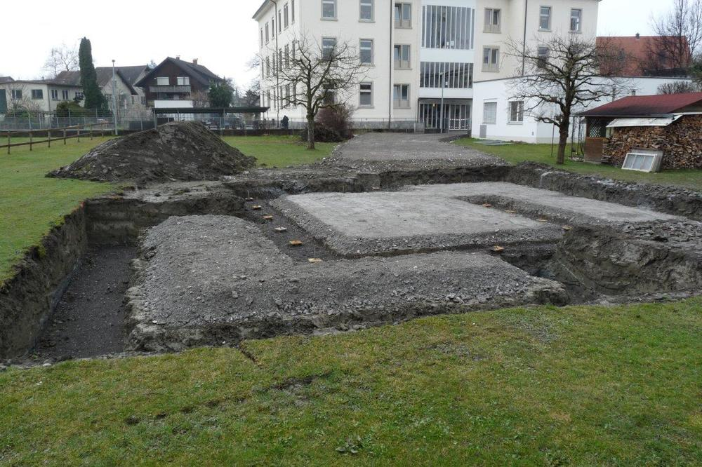 EFH Rathausstrasse Baubeginn