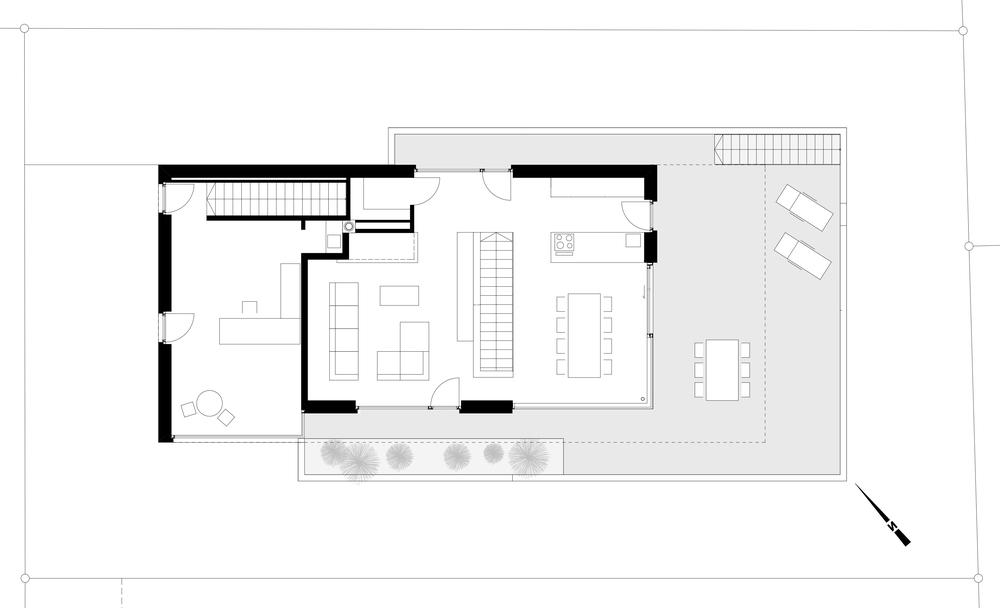 Haus Depaoli Obergeschoss