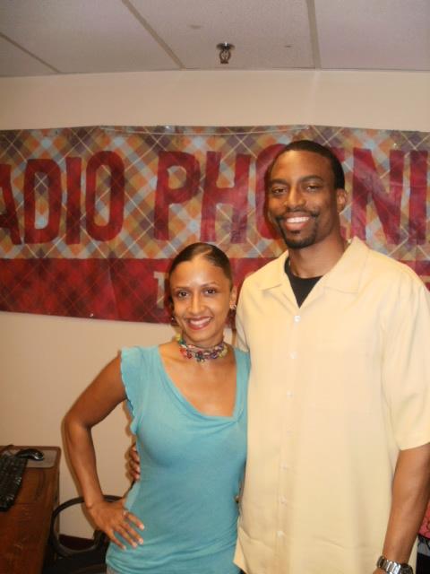 Tanya Tiet. Radio Phoenix Studios. 8-18-2013.