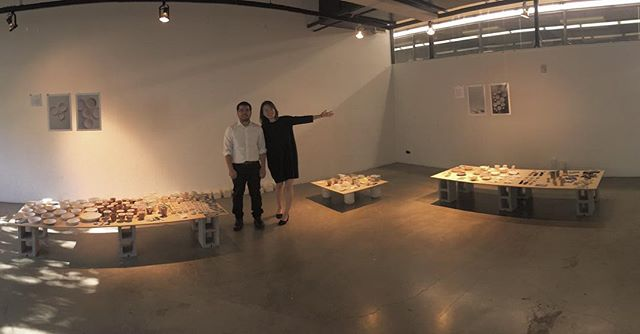 We had such an amazing opportunity to express our creative thinking and making in past 13 weeks. We truly appreciate @heatherrosenmanceramics  and @fridolinbeisert and all the guests who came to support us! @artcenteredu Ceramics is just a beginning.