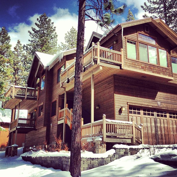 Home for the weekend. Your first Tahoe cabin experience.