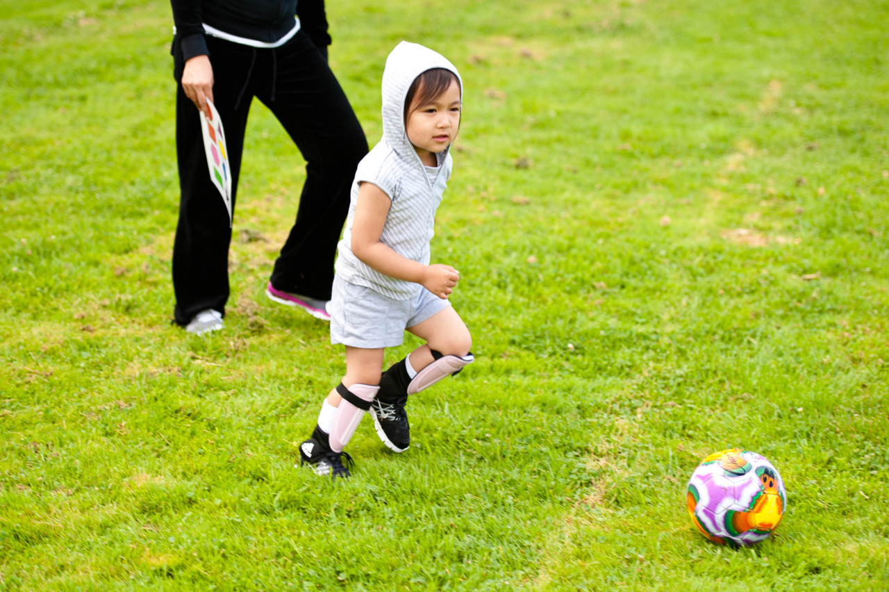 Your first soccer practice.