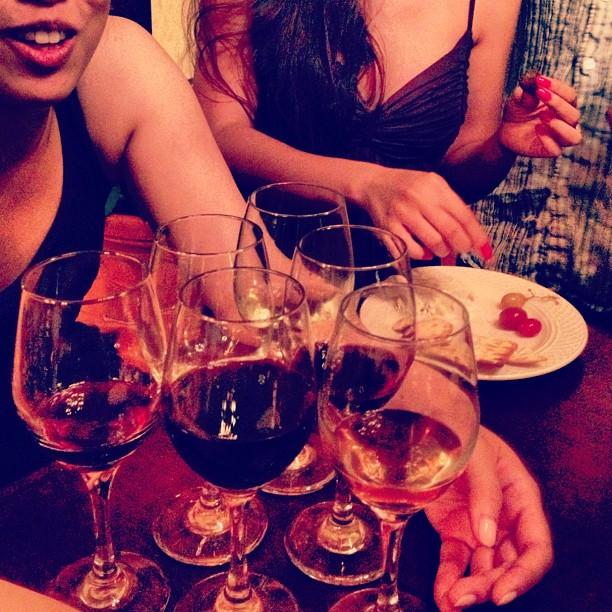 Wine Pong… we be classy like dat.