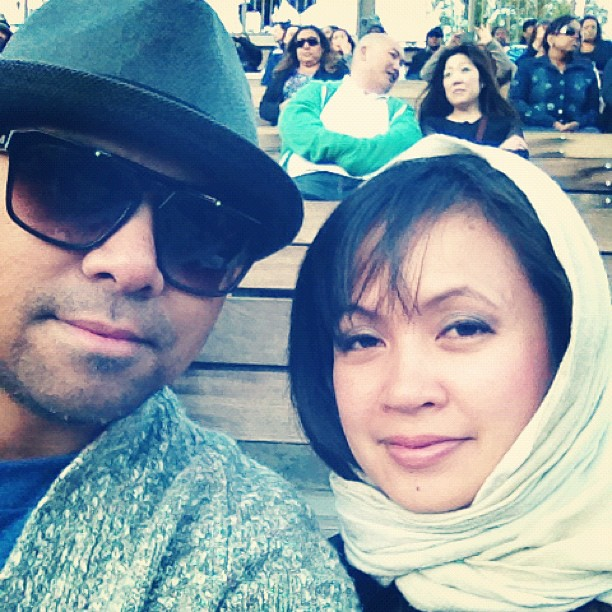 Date Nite w/ my Ace Boom (Taken with Instagram)