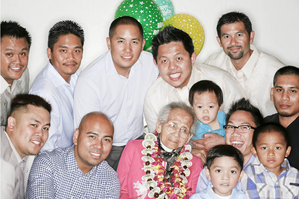 The Boys We celebrated your Great Grandmother Rufina's 100th Birthday this weekend.