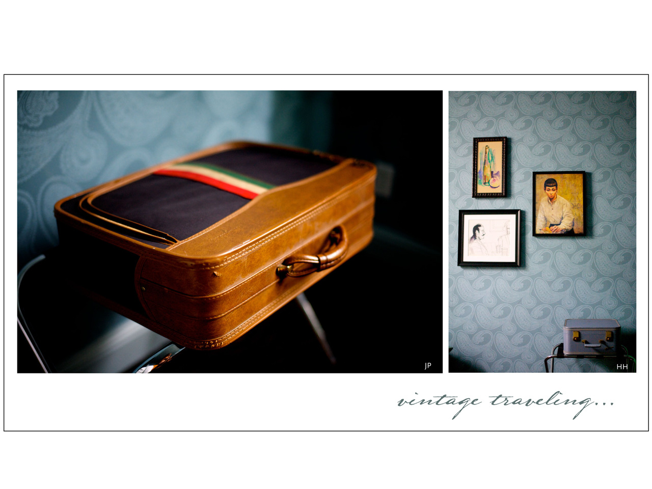 I love the photos of these suitcases.  Makes me want to book a bed and breakfast somewhere off the coast of Nantucket, not sure why that place comes to mind, never been there.  I thought you might enjoy this, I got this from your Aunt Helena's blog. Find yourself a nice suitcase and travel the world.  You cannot truly enjoy all of life's beauty or find all the answers to your questions sitting around at home.  Get the 'eff out of Dodge… I had the rare opportunity to live in so many far off places.  My advice, do not limit your travels, get off the beaten path and you will be surprised at what you find.  I have visited some amazing places, from bustling cities to tiny little villages, where their idea of a bathroom was a hole in the ground.  In fact, I graduated high school in Del Rio Texas, that town looked like it was ripped right out of the movie Napoleon Dynamite.  My point is this, the contrast between how each population views the world is just as interesting as the places themselves.  Don't fall into the trap that the US is the center of the world.  See the world and be humbled. So, I hope you make time to travel as you get older.  Or maybe attend school studying abroad.  In fact, go live somewhere outside of home base… just make sure you limit that time to a year, we don't want you to be away for too long. ps  Semester at Sea doesn't count, I know what happens on those ships… you're not going.