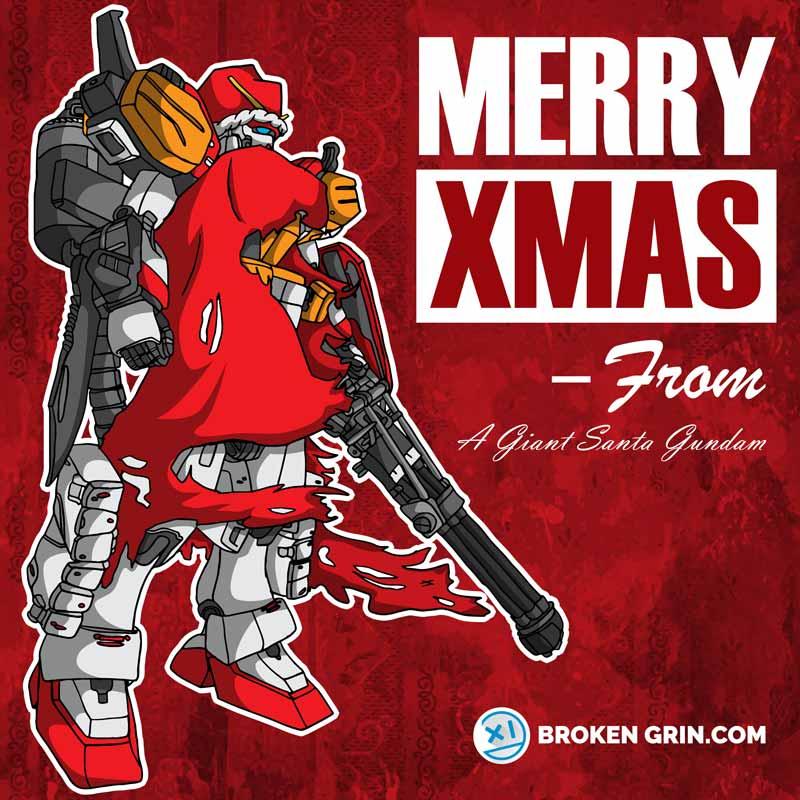 Gundam Xmas - Featuring... Santa?