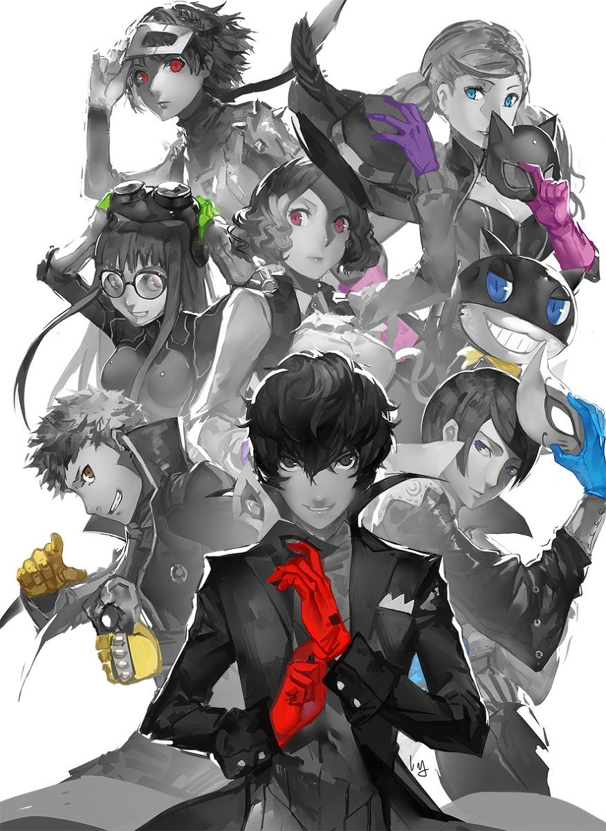 Persona 5 - A Rambling Thought