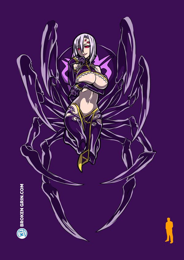 Monster Musume Pop Art - Featuring: The Lovely Rachnera Arachnera
