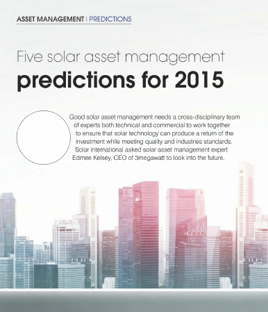 solar asset management prediction