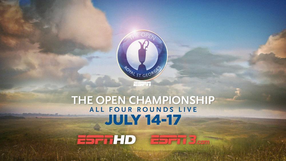 ESPN | OPEN CHAMPIONSHIP SPOT