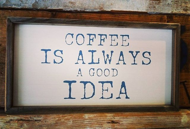 If you are waiting for a sign this is it 😂😂😂 Open from 9am for your morning fix @37westcafe @bristot.ie #goodmorning #coffee #coffeelovers #getup #37west #nuig #uchg #galway #wildatlanticway #itsasign #goodidea