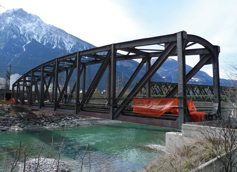FO Bridge between Brig and Naters / FO Brücke zwischen Brig und Naters