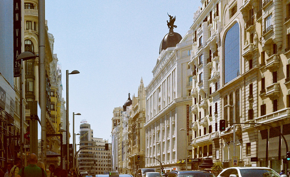 Copy of Gran Via, Madrid (35mm)