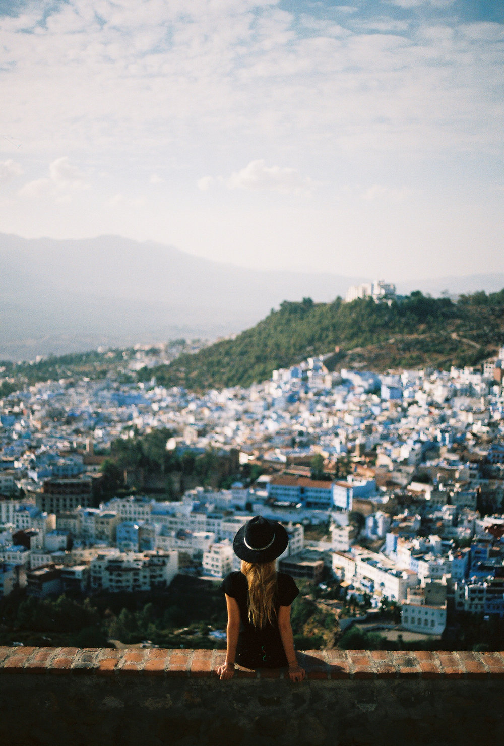 Chefchaouen, Morocco, 35mm