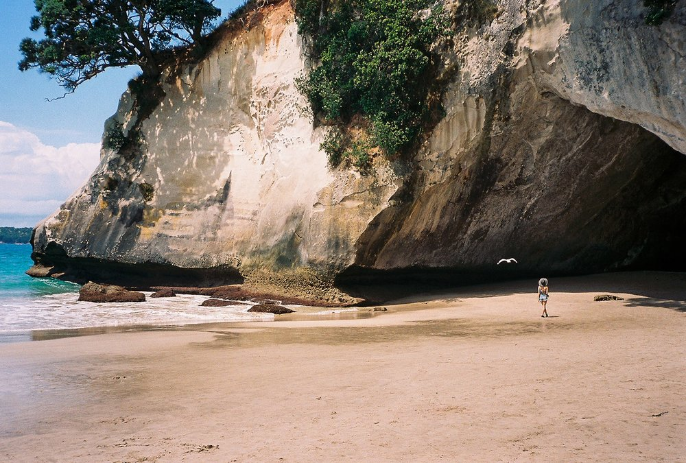 Cathedral Cove, New Zealand (35mm)