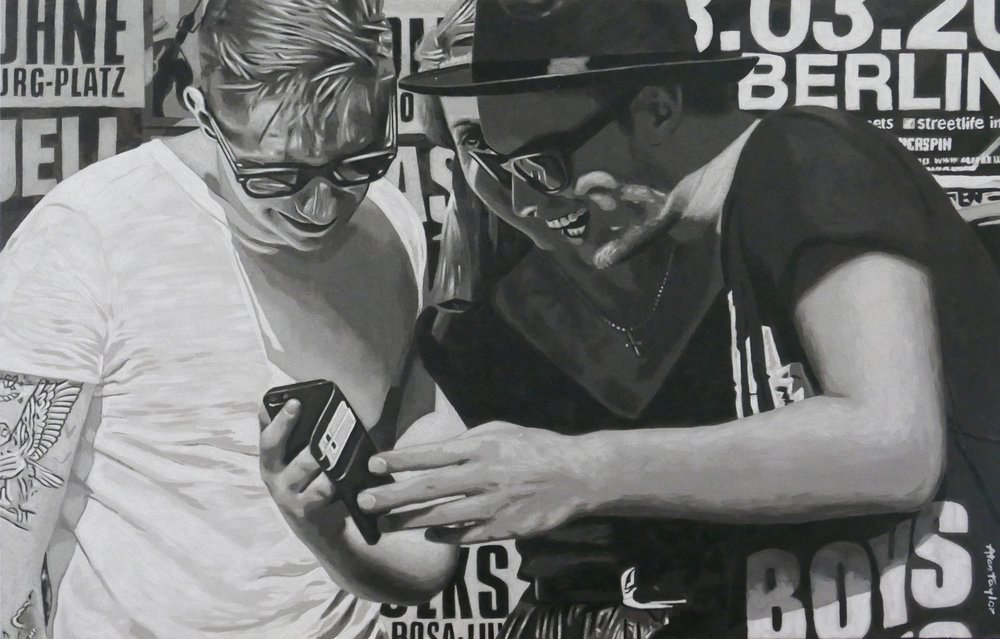 Acryl auf Leinwand 120cm x 90cm