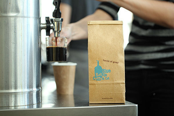 James Murphy and Blue Bottle Coffee Co's  'House of Good' espresso.