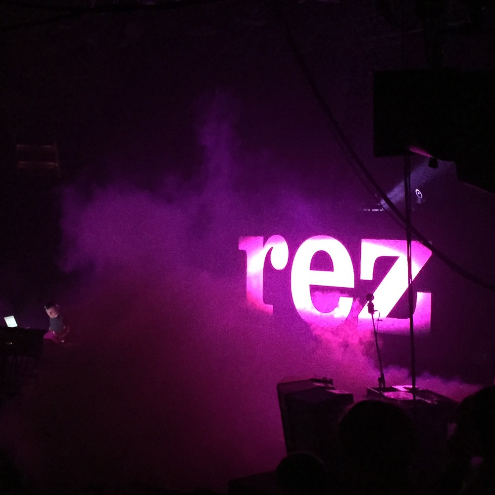 Rez performed (with Cowgirl of course) at the end of the night.