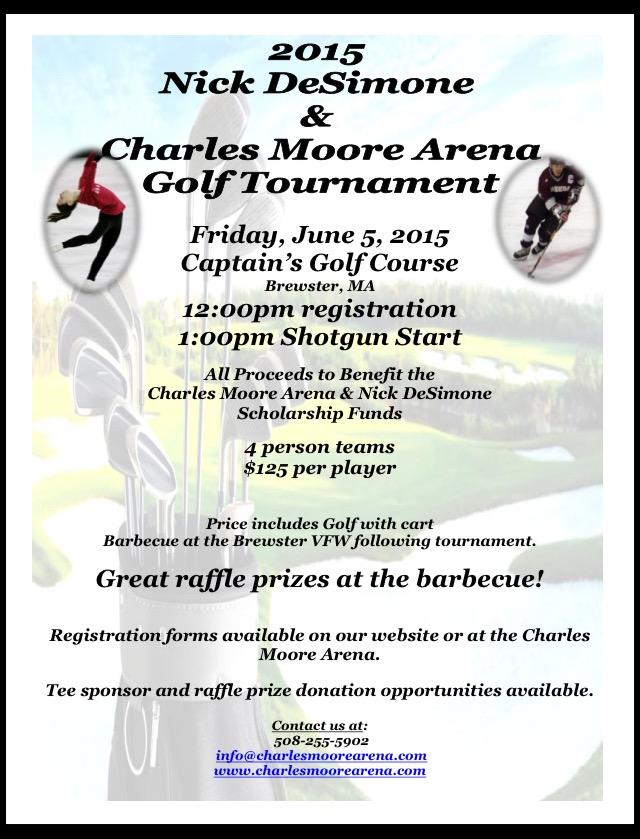 2015 Nick DeSimone & Charles Moore Arena Golf Tournament