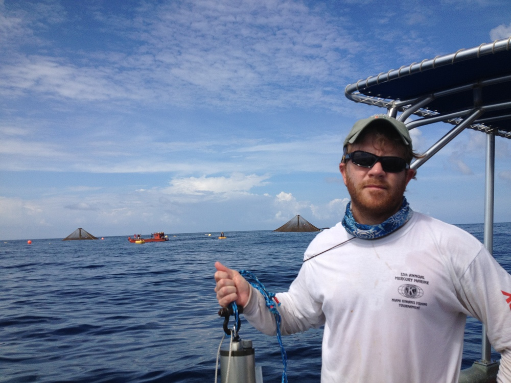 Aaron III is a native of Bradenton FL. He has a PhD in aquaculture from the University of Miami and has worked in the aquaculture industry throughout Latin America. Aaron also has a law degree from Emory University which he keeps in the the Two Docks tool shed in case its ever needed.