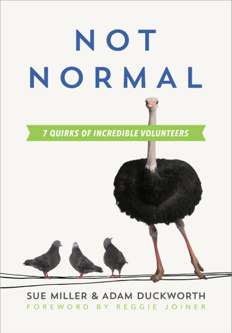 Not Normal: Seven Quirks of Incredible Volunteers by Sue Miller
