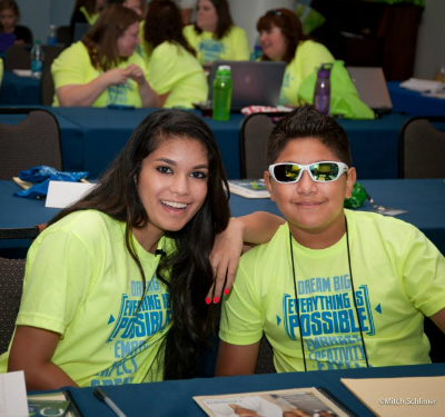 Students from the 2014 Ultimate Life Summit