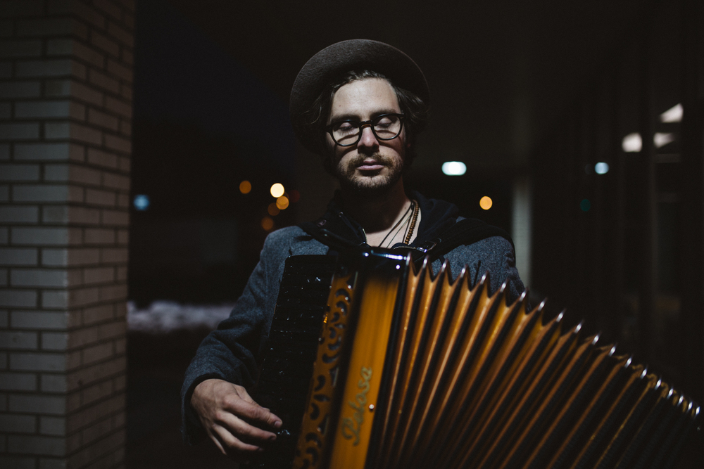 Stelth Ulvang of The Lumineers - Durham, NC Musician Portraits